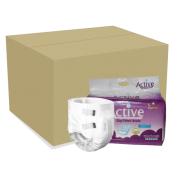 Adult Active Premium Slips Medium (72 Per Carton)