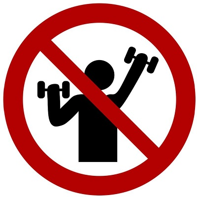 No Heavy Weight Lifting